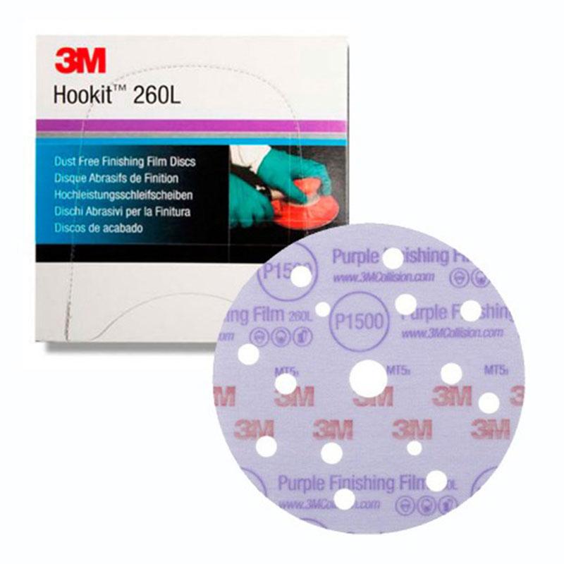 260L+ Hookit P1500 Disk Zımpara 150mm