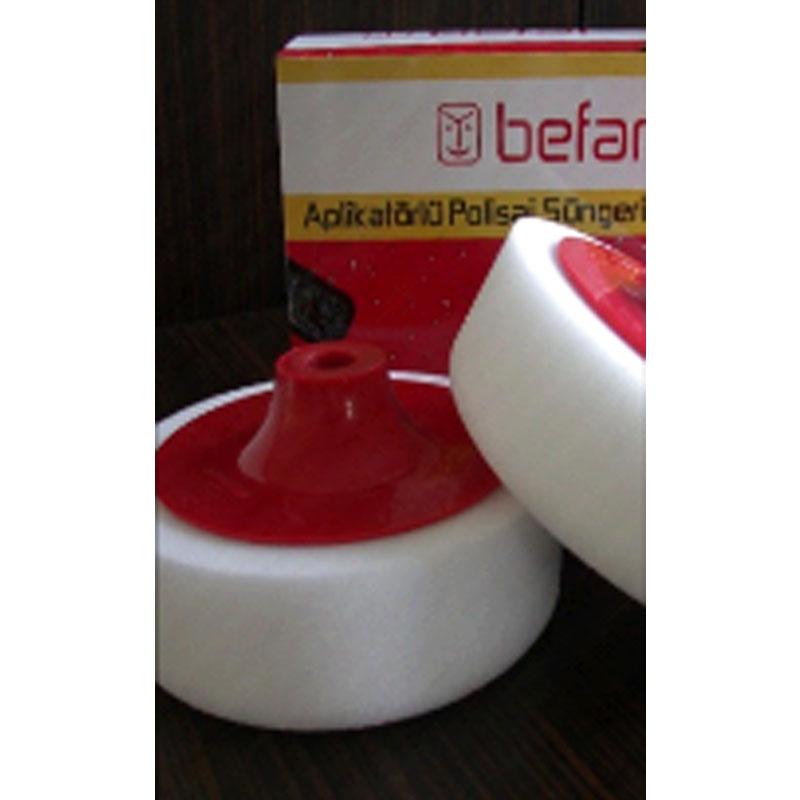 Befar+Plus Aplikatörlü Polisaj Süngeri 150*50mm Beyaz