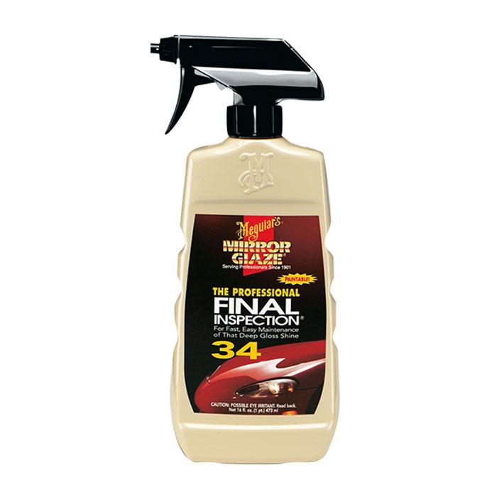 Mirror Glaze® Fınal Inspectıon Yüzey Temizleme Sıvısı